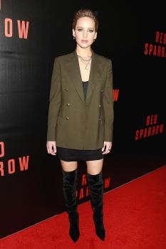 Jennifer Lawrence  'Red Sparrow' Screening in 24